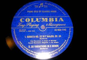 Arrau Photo Gallery 12 Vinyl Collections Columbia ArrauHouse